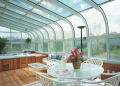 Glass Curved Roof Sun & Stars Rooms