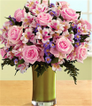 Deluxe Pink Sapphire Bouquet