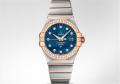 Omega Constellation Brushed Chronometer Watch