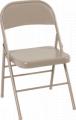 Cosco All Steel Folding Chair Antique Linen