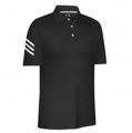 Men's ClimaCool 3-Stripe Solid Polo Shirt