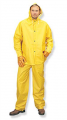 PVC Yellow Rainsuits