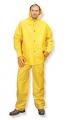 PVC Yellow Rainsuits