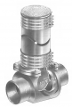 BV1200-R Series Cast Iron Backwater Valves with Floor Level Nickel Bronze Access Cover