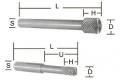 Cylindrical Burrs