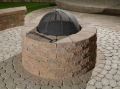TechoBlok Valencia Fire Pit Kits