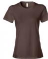Chocolate Ladies' Ringspun Fashion Fit T-Shirt