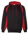Black Red Badger - Hook Hooded Sweatshirt