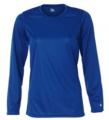 Ladies' B-Dry Long Sleeve T-Shirt