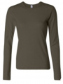 Rib Long Sleeve T-Shirt