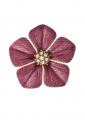 Garden of Love Fuchsia Flower Pin