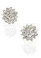 Sterling Silver Snowflake Stud Earrings