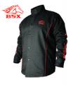 BSXн Stryker FR Welding Jacket BX9C Black Stallion SM