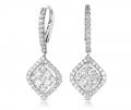 E7796WG Diamond Earring