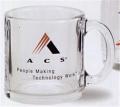 Clear Glass Coffee Mug