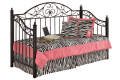 Brush Hollow metal day bed with deck