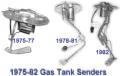 1975-1982 Gas Tank Senders