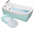 Lil' luxuries® whirlpool, bubbling spa & shower