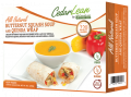 All Natural Butternut Squash Soup and Quinoa Wrap