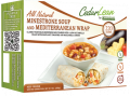 All Natural Minestrone Soup and Mediterranean Wrap