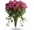 18 Long Stemmed Pink Roses