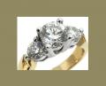 DRSR03942-4.5 Diamond Engagement Ring