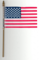 Handheld American Stick Flags