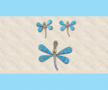 Dragonfly Pendent & Earrings