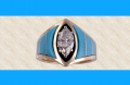 Ladies Low Profile Marquise Ring