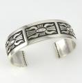 Silver Ketoh Cuff Bracelet