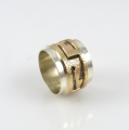 14k Gold and Silver Ring