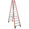 T7412 12' Type IAA Fiberglass Twin Ladder