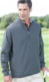 5330 Ashworth Men's Houndstooth Half-Zip Jacket