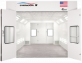 The Chinook II™, from Garmat® USA, is a pit-less downdraft spray booth