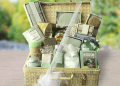 Green Tea Spa Haven Gift Basket