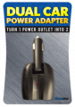 Model: 15951  Dual Car Power Adapter
