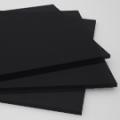 Cast Acrylic Sheet - Black - 1/4