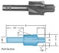 SAE J1926/1 /MS-16142 O-Ring Boss Tool Carbide Tipped