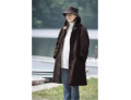 Shearling Stroller Coat