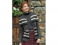 Heritage Stripe Zip Cardigan