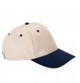 136 Anvil 6-Panel Brushed Twill Cap
