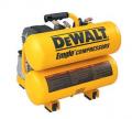 DeWalt D55151 Heavy-Duty 2-1/2 Max HP 4 Gallon Electric Hand Carry Compressor