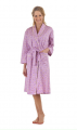 Lilac Honeycomb Sateen Classic Robe