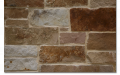 Naturally chopped Native Texas Sandstone