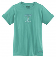 Life Is Good Crusher Jackie Snowboard Girls T-Shirt
