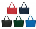Solid Color Poly Tote Bag