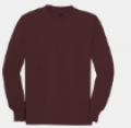 Maroon Youth ComfortSoft by Hanes
