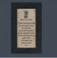 "Prayer to St. Michael on 4x8"" plaque"