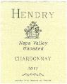 Вино Шардоне ранчо Hendry 2011 года