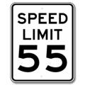 SPEED LIMIT Regulatory Sign